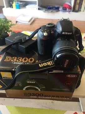 Camara Reflex D3300