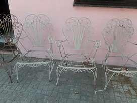 Cuatro sillones jardin. Envio incluido.