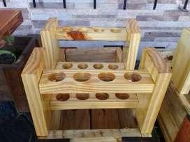 Especieros de madera