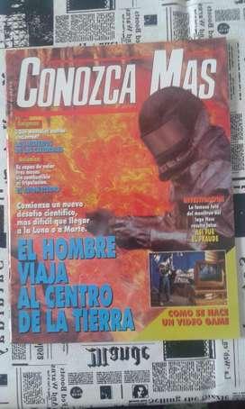 Conozca Mas. Año 1994 Numero 67 El Hombre Viaja Al Centro De La Tierra