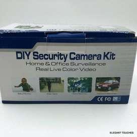 Cámara De Vigilancia seguridad De Bricolaje Hogar Y Oficina Con Cable  Live Color Video Kit (NUEVO)