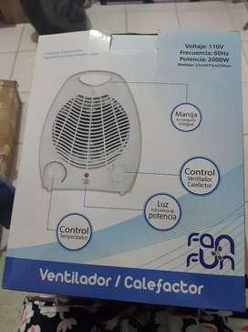 Ventilador calefactor