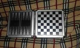 Juego Ajedrez  Backgammon magnético