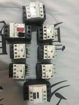 Venta de lote de contactores y térmicos
