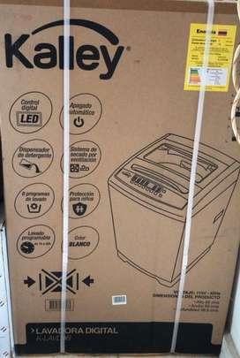Lavadora kalley 9kg Nueva en caja