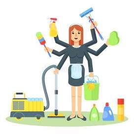 Se requiere Señora o Señorita para Limpieza de Domicilio