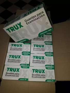 Guantes de examinacion latex