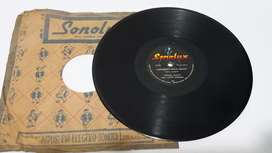 Disco 78 Rpm Cantinero Sirva Trago/curruchando ConjuntoTropical