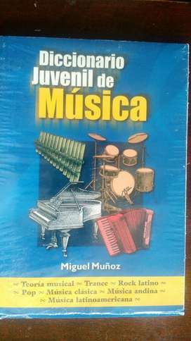 DICCIONARIO JUVENIL DE MÚSICA DE TODO TIPO