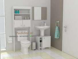 Muebles de melamina para baños optimizador de baño madrid