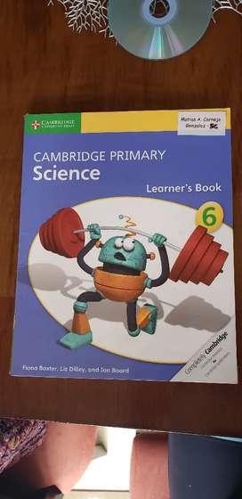 Libro de inglés Cambridge Primary Science. Learner's Book. Stage 6.