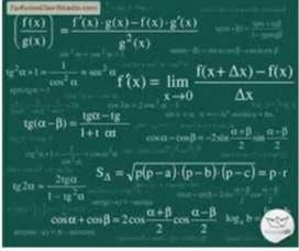 Clases particulares a domicilio. Nivel primario  ( todas las asignaturas) nivel secundario matemática y química