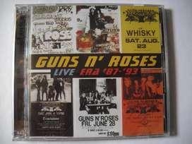 guns n roses live era 87-93 2 cd sellado
