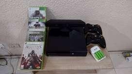 Xbox 360 con 5 juegos originales y kinet