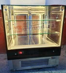 Hermosa vitrina de refrigeración postrera totalmente nueva