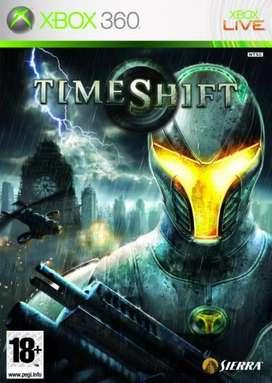 Xbox 360 Videojuego Time Shift (Como nuevo)