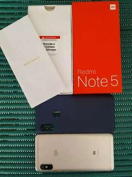 XIAOMI NOTE 5 4GB DE RAM-64GB MEM INTER