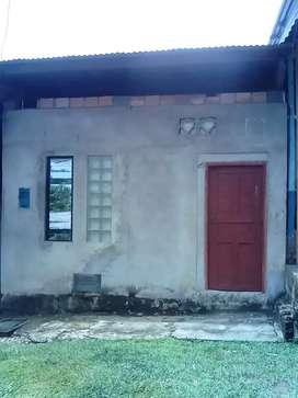 Casa en construcción ubicado en km1 carretera iquitos nauta a 40 metros de pista
