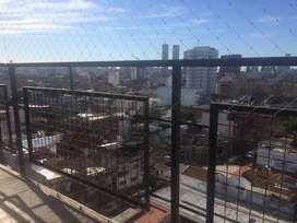 Monoambiente sol y luz, cfte balcon a vista abierta