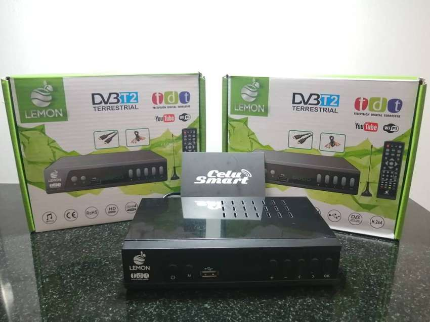 TDT DV3T2 Televisión de Alta Definición 0