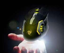 mause gamer 6 botones y cuatro colores