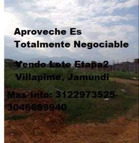 Vendo Lote En Villapime,Jamundi Etapa 2 Totalmente Negociable