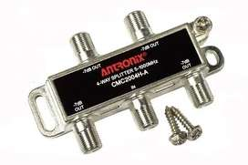 30 Unidades Antronix 4-way Splitter 5-1000mhz Cable Tv DivisOR