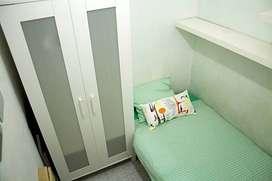 Alquiler habitación individual, residencial Olivos, Norte Bs.As. Arg.13500$Arg./mes