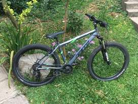 Vendo bicicleta Mtb Gw arrow rin 27.5