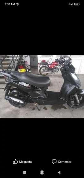 moto único dueña hermosa!