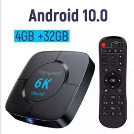 TV box android 10.0 transpeed