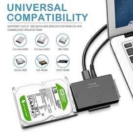 Hasta 10Tb Docking Station PROFESIONAL HDD SSD DVD CD IDE SATA III 2.5 y 3.5 Multi - 44444