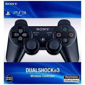 control playstation 3 color negro