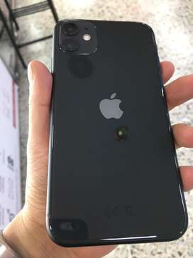 iPhone 11 COLOR SPACE GRAY de 128GB, 10/10 cargador, EarPods y factura. TIENDA FÍSICA.