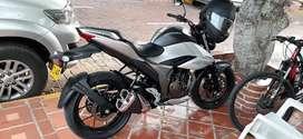 Moto gixxer 250 como nueva literal