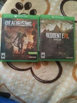 Resident Evil 7 O Dead Rising 4 Xbox One
