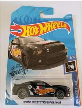 Hot Wheels 2019 Hw Race Team '10 Ford Shelby GT500 Super Snake, 192/250 Black