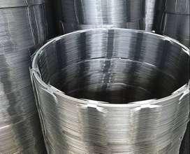 Concertina de máxima seguridad galvanizada de 18 - rollo rinde 6 metross