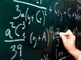 Clases de Matemáticas, Física, Álgebra y Cálculo.