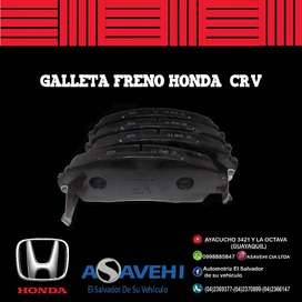 GALLETAS DE FRENO HONDA ORIGINAL ODYSSEY 06-10 & CR-V 07-11