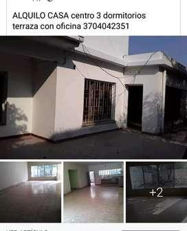 ALQUILO CASA Centro