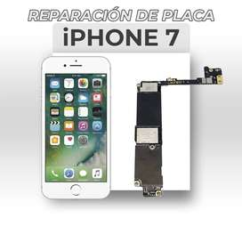 ¡Reparación de Placa Iphone 7!