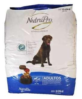 Comida para perro NutraPro Adultos 20kg
