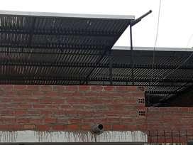 Techos con estructuras metalicas