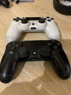 Palancas de PS4 de segunda mano