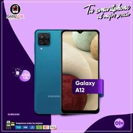 GALAXY A12 4/64GB con garantía