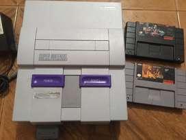 Super Nintendo Clasico Original