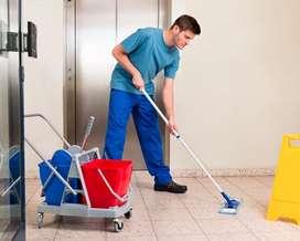 Limpieza áreas comunes edificio