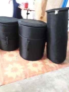 Bateria - Bolsos para llevar bateria de percusion