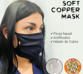 Tapabocas soft y cooper mask